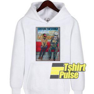 Around The World h hooded sweatshirt clothing unisex hoodie