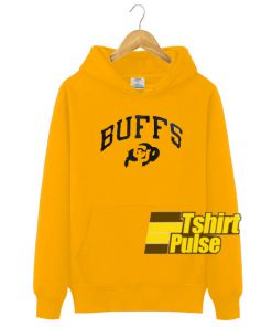 Buffs Gold Yellow hooded sweatshirt clothing unisex hoodie
