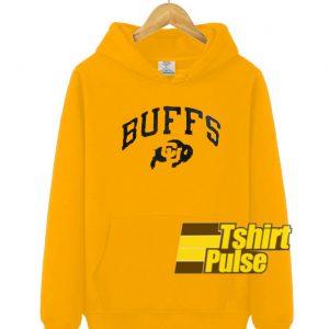 Buffs Gold Yellow hooded sweatshirt clothing unisex hoodie