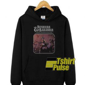 Bunkers And Badasses hooded sweatshirt clothing unisex hoodie