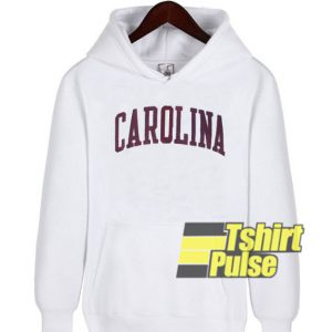 Carolina White hooded sweatshirt clothing unisex hoodie