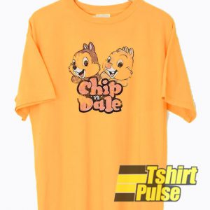 Chip n Dale Vintage t-shirt for men and women tshirt