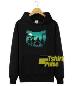 Chomusuke Silhouette hooded sweatshirt clothing unisex hoodie