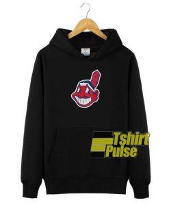 Cleveland Indians hooded sweatshirt clothing unisex