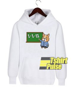 Corgi Teacher hooded sweatshirt clothing unisex
