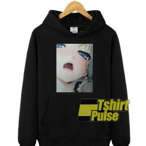 Crying Girl hooded sweatshirt clothing unisex hoodie