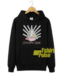 Cute Unicorn Jazz hooded sweatshirt clothing unisex hoodie