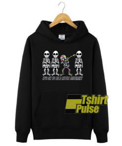 Dabbing Autism Skeleton hooded sweatshirt clothing unisex hoodie