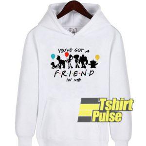 Disney Toy Story And Friends hooded sweatshirt clothing unisex hoodie