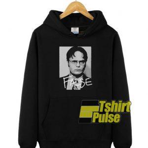 Dwight Schrute False hooded sweatshirt clothing unisex hoodie