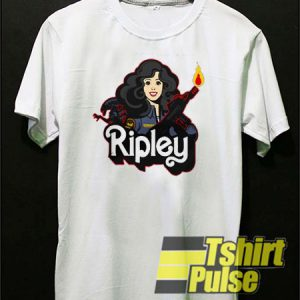Ellen Ripley With Gun t-shirt for men and women tshirt