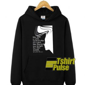 Emily Bronte hooded sweatshirt clothing unisex hoodie
