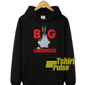 Fat Bunny Big Chungus hooded sweatshirt clothing unisex hoodie