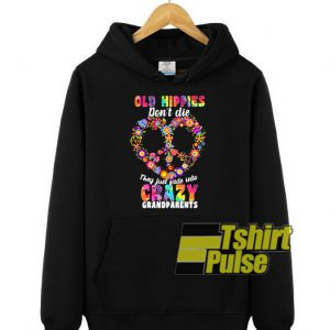 Flower Old Hippies hooded sweatshirt clothing unisex hoodie