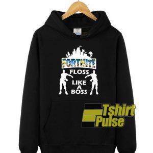 Fortnite Floss Like A Boss hooded sweatshirt clothing unisex hoodie