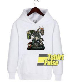 Game Of Thrones Chibi hooded sweatshirt clothing unisex hoodie