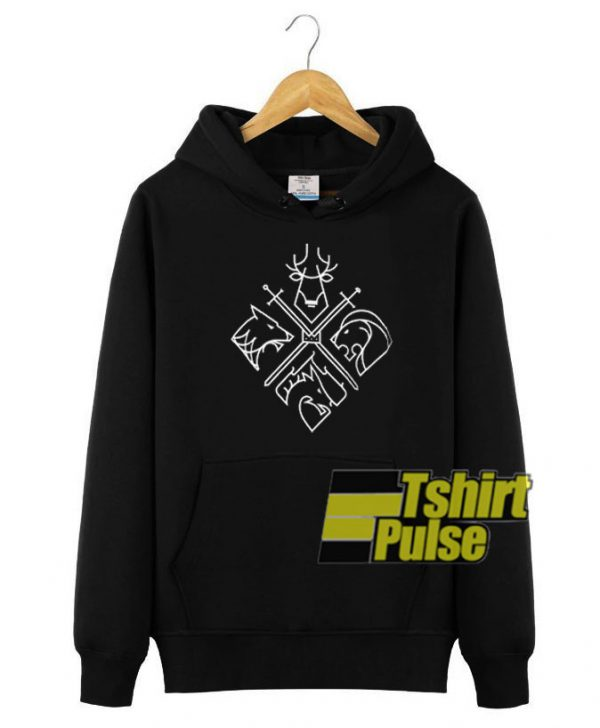 Game of Thrones Houses hooded sweatshirt clothing unisex hoodie