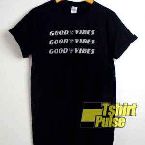 Good Vibes Black t-shirt for men and women tshirt