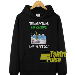 Grinch The Mountain hooded sweatshirt clothing unisex hoodie