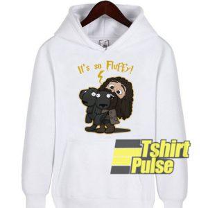 Harry Potter It's So Fluffy hooded sweatshirt clothing unisex hoodie
