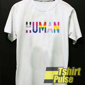Human Letter Colors t-shirt for men and women tshirt