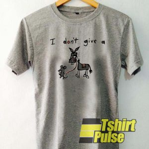 I Don't Give A Rat Donkey t-shirt for men and women tshirt