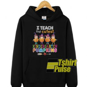 I Teach The Cutest Kindergarten Pumpkins hooded sweatshirt clothing unisex hoodie