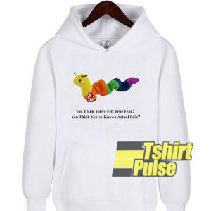 Inchworm hooded sweatshirt clothing unisex hoodie