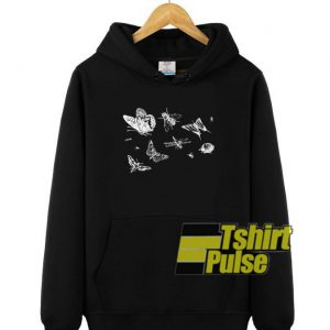 Insects hooded sweatshirt clothing unisex hoodie