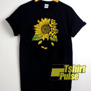 Jack Skellington Sunflower t-shirt for men and women tshirt