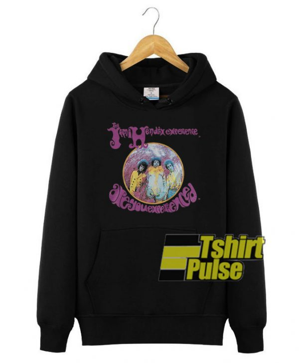 Jimi Hendrix Are You Experienced hooded sweatshirt clothing unisex hoodie