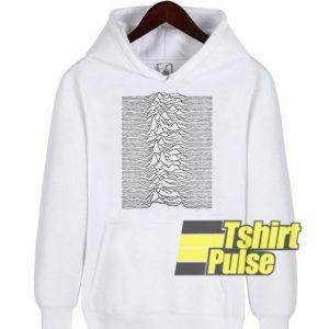 Joy Division White hooded sweatshirt clothing unisex hoodie