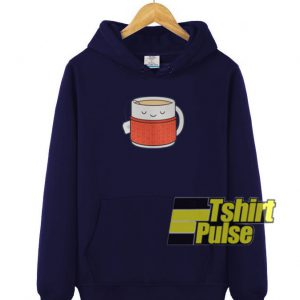 Keep Warm Drink Tea hooded sweatshirt clothing unisex hoodie