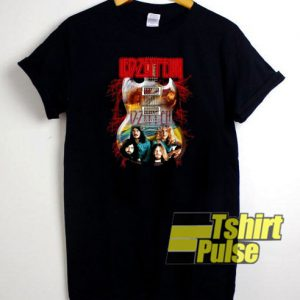 Led Zeppelin Electric Guitar t-shirt for men and women tshirt