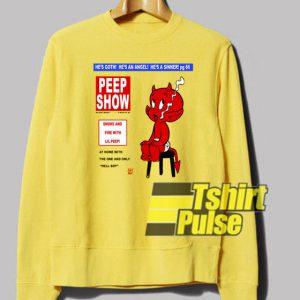 Lil Peep Show sweatshirt