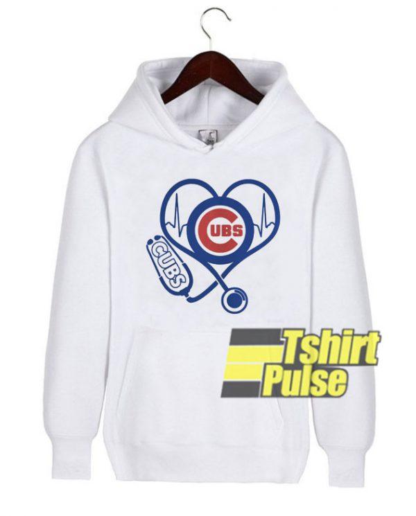 Love Cubs hooded sweatshirt clothing unisex hoodie