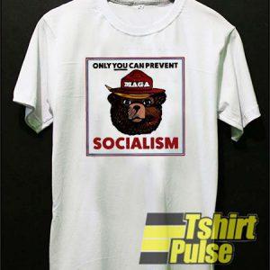 MAGA Bear t-shirt for men and women tshirt