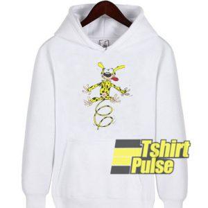 Marsupilami Jumping hooded sweatshirt clothing unisex hoodie