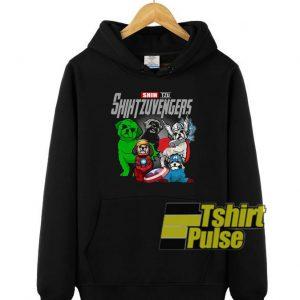 Marvel Shih Tzu Avengers hooded sweatshirt clothing unisex hoodie