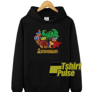 Marvel Slothvengers hooded sweatshirt clothing unisex hoodie