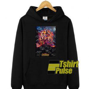 Marvel Studios Avengers Endgame hooded sweatshirt clothing unisex hoodie