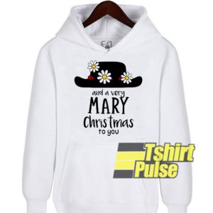 Mary Poppins and Mary Christmas hooded sweatshirt clothing unisex hoodie