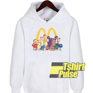 McDonalds Squad hooded sweatshirt clothing unisex hoodie