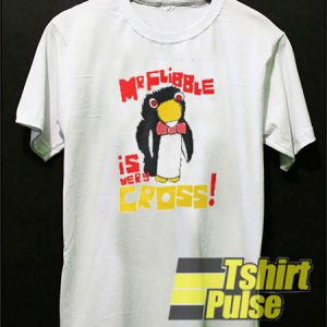 Mr Flibble Is Very Cross t-shirt for men and women tshirt