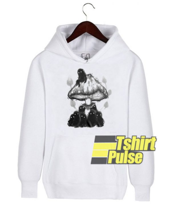 Much Monsters In Mushroom hooded sweatshirt clothing unisex hoodie