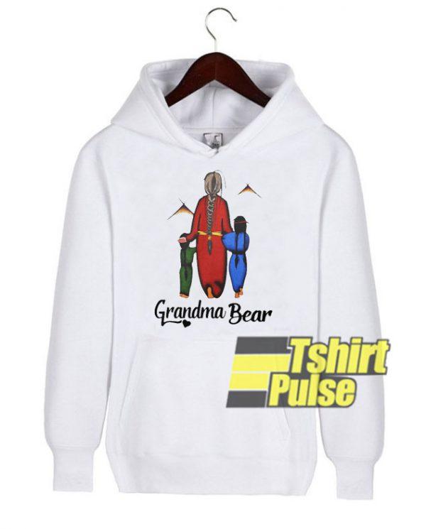 Native Americans Grandma Bear hooded sweatshirt clothing unisex hoodie