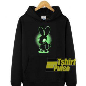 Night Bunny hooded sweatshirt clothing unisex hoodie