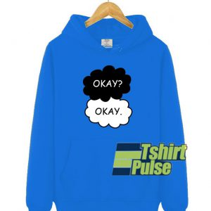 Okay Okay Clouds hooded sweatshirt clothing unisex hoodie