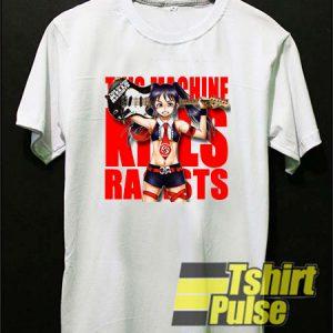 Otaku This Machine Kills Racists t-shirt for men and women tshirt