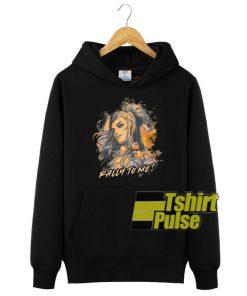 Overwatch Brigitte Rally To Me hooded sweatshirt clothing unisex hoodie